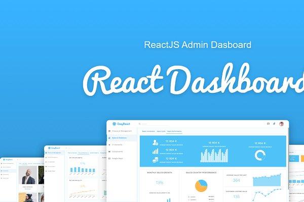 Download ReactJS Admin Template