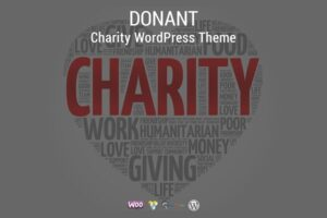 Download Donant - Charity WordPress Theme