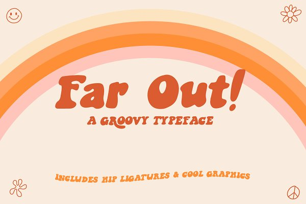 Download Far Out! - A Groovy Typeface