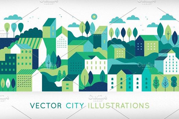 Download City illustrations