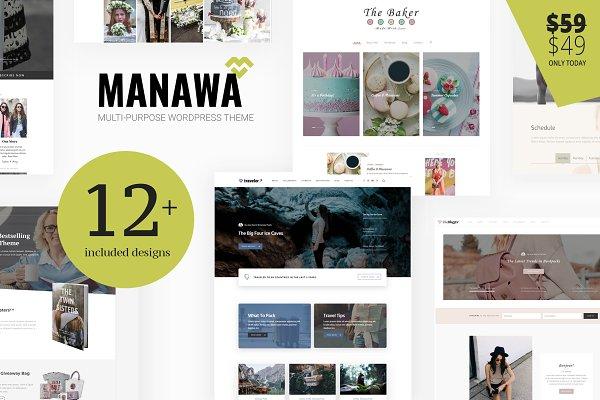 Download Manawa - Business WordPress Theme
