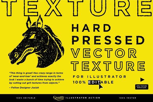 Download Hard Pressed Vector Texture