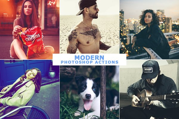 Download 40 Modern Photoshop Actions 4
