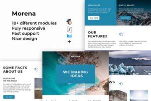 Download Morena – Responsive Email template
