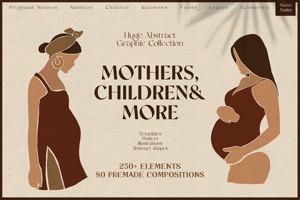 Download Abstract Graphic Bundle. Mothers