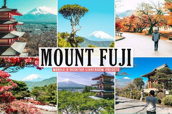 Download Mount Fuji Pro Lightroom Presets