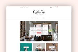 Download Natalie Blog & Shop WordPress Theme