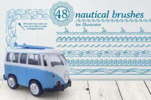 Download Nautical brushes
