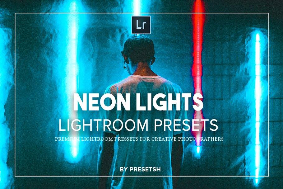 Download Neon Light Lightroom Presets