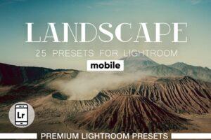 Download Landscapes Presets Lightroom Mobile