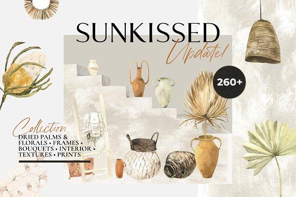 Download -50%! SUNKISSED dry boho tropics