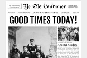 Download Google Docs - Old Newspaper Template