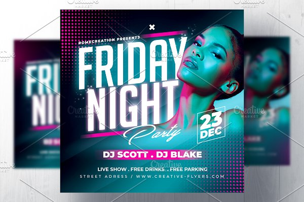 Download Night Club Flyer Template