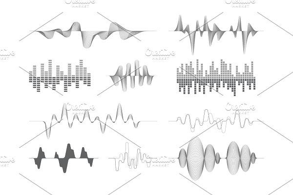 Download sound waves. music audio