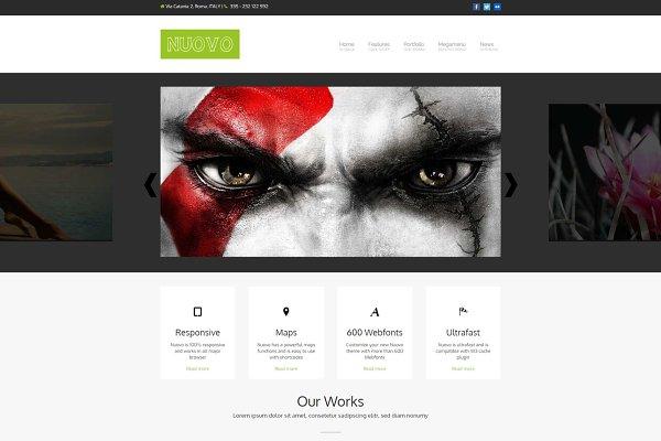 Download Nuovo - Multipurpose WP Theme
