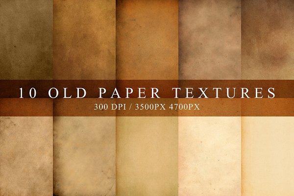 Download Old Paper Textures