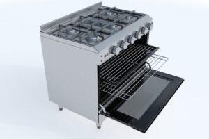 Download 90cm Gas Range Oven