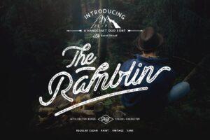 Download Ramblin Font Duo (15% OFF)