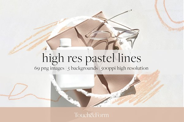 Download High Res Pastel Lines
