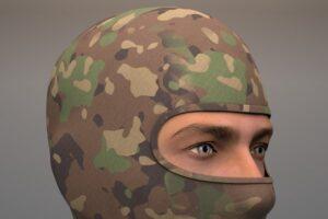 Download Military Balaclava mask Woodland
