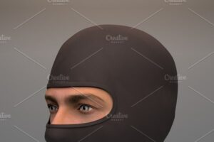 Download Military Black Balaclava mask