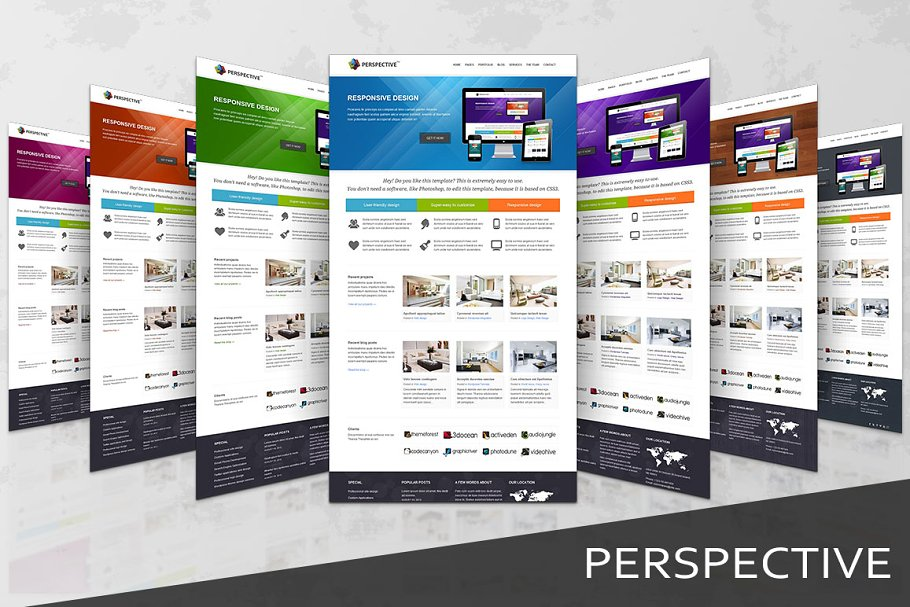 Download Perspective - Responsive Template