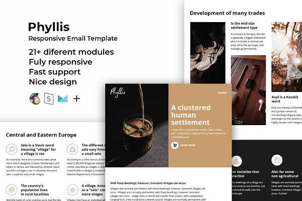 Download Phyllis – Responsive Email template