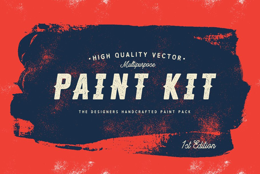 Download Paint Kit Vector - Painted Shapes