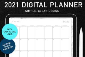 Download 2021 Digital Planner: Simple Design