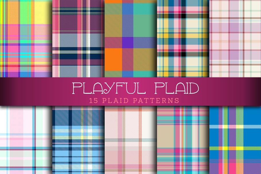 Download Playful Plaid