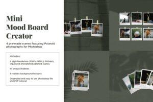 Download Mini Mood Board: Polaroid Scenes