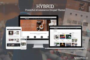 Download HYBRID - eCommerce Drupal Theme