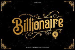 Download Billionaire typeface