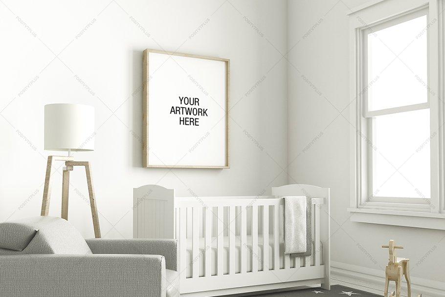 Download Nursery Frame Mockup Interior