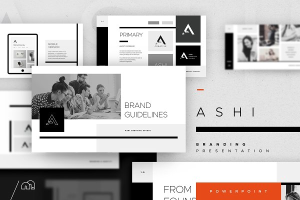 Download Brand PowerPoint - Ashi