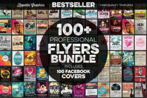 Download 100+ Flyers Bundle + Covers