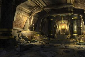 Download Golden dungeon 3dsmax Environment