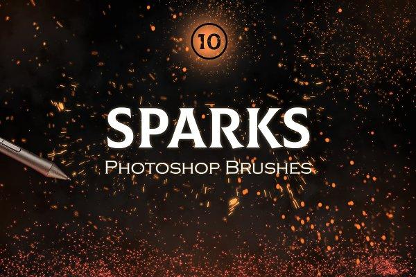 Download Sparks Photoshop Brushes
