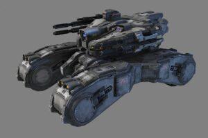 Download SciFi Light Tank - MK1