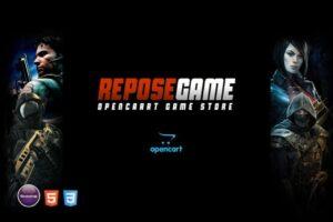 Download Repose - Game OpenCart Theme