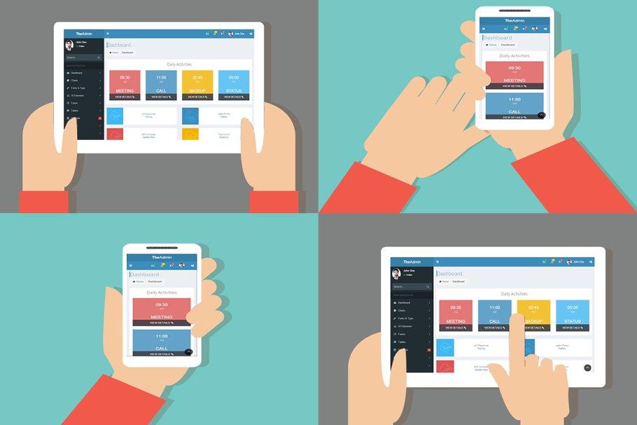 Download Multipurpose Dashboard Template