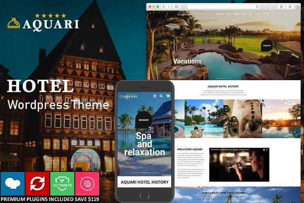 Download Hotel & Resoft Wordpress Theme