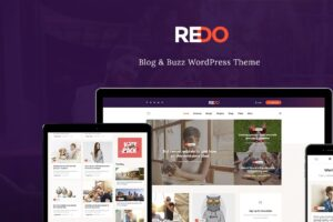 Download Redo - Personal Blog & Magazine