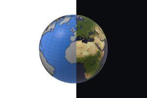 Download Earth detailed design 3D model