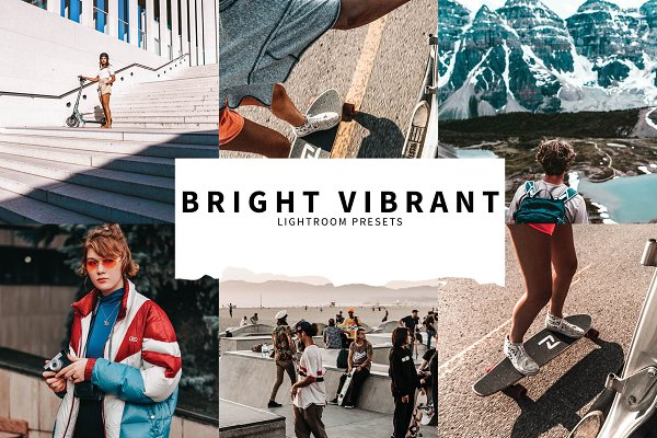 Download 10 Bright Vibrant Lightroom Presets