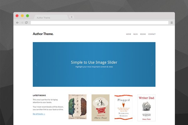 Download Author Theme for WordPress