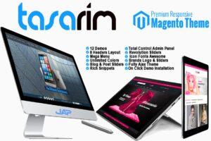 Download Tasarim Responsive Magento Theme