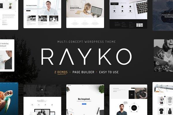 Download Rayko Multi-Concept WordPress Theme