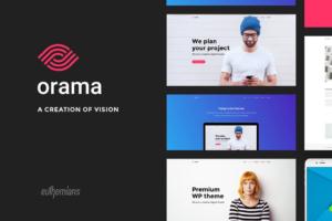 Download Orama - A Premium WordPress Theme