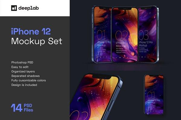 Download iPhone 12 Pro Mockup Set